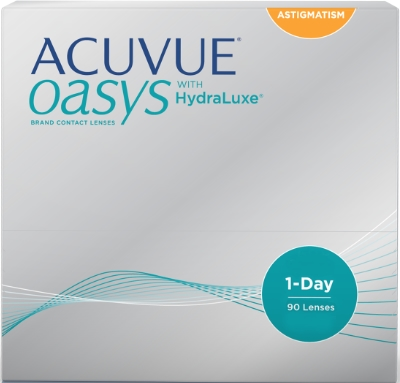 1 Day Acuvue Oasys for Astigmatism 90 pack